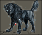Wolf of Shadows Charges Up by TheTyro