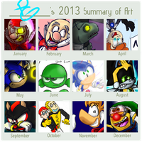 PGs 2013 Art Summery by Weevmo