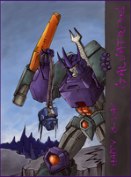 Happy B-day, Galvatron! by Schizoplane