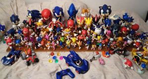 Sonic Figure Collection by MolochTDL