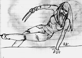 X-23 sketch by RazKurdt
