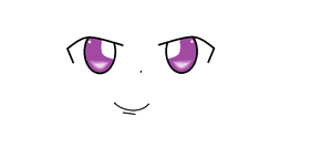 purple eyes by Ilovekidbuu