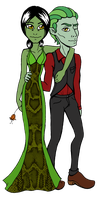 Tehl and Tyler Prom Night by AnaAosPedacos