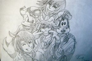 kingdom hearts by morganwtb11
