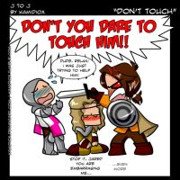 J to J: Don't touch! by KamiDiox