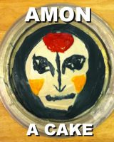Amon a Cake by Hot-Gothics