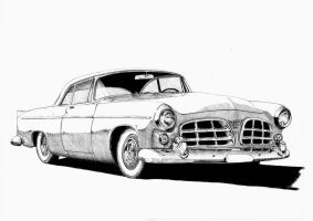 1955 Chrysler 300C by AERO-HDT