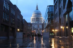 Wet and Windy London by OllieCipres