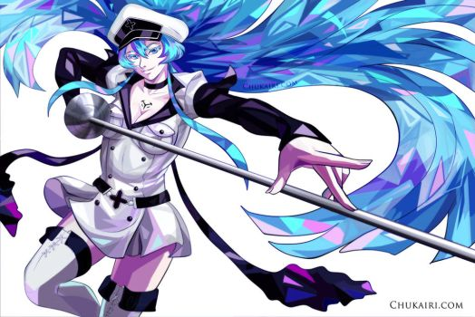Esdeath Crystalize by Morigalaxy