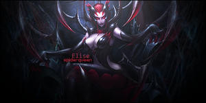 Signature: Elise the Spiderqueen by HappyFaceStar