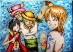 Strew Hat Crew by angelwithoutsoul89