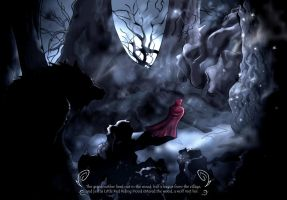 Little Red Riding Hood 1 by dcbats2000