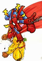 Spider-Ham - Captain Carrot by Dreekzilla