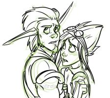 Jak n Dax - I'll Protect You by kdfuturama