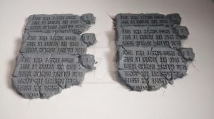 Ancient Tablet update by Pharaoh-Hamenthotep