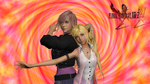 Lightning and Serah Render by SilverMoonCrystal