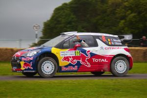 Goodwood 2012: Citroen DS3 WRC by randomlurker