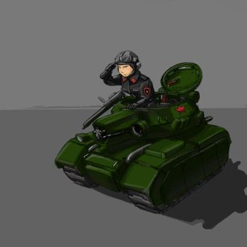 small scout tank by TugoDoomER