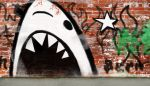 Shark Graffiti by MasterBliss