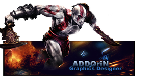 Kratos God of War Signature by ADDOriN