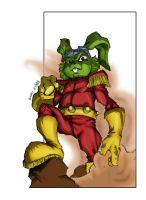 Captain Bucky O'Hare Colored by dRock-designs