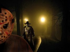 JASON VS JEEPERS CREEPERS by Darkness-Man
