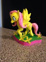 Fluttershy sculpture-for sale by griffin126