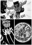 RAMPAGING WOLVERINE_panels by Santolouco
