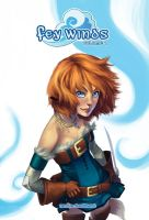 Fey Winds Vol. 1 Cover by Lelenia