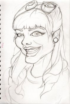 Emma Caricature by realgumption