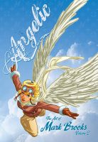 Angelic artbook cover by diablo2003