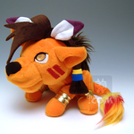 FF Red XIII Nanaki Plush Sit by kaijumama