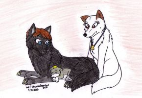 Skywalker Wolf Pack: Sleep, Little Cub by SkywalkerGirl666