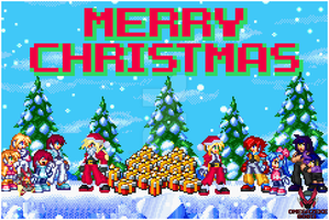 Marry Christmas. by omegazeke08013
