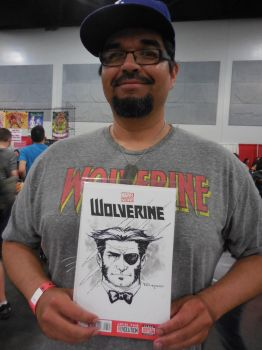 Wolverine Patch from Comic Con Revolution 2017 by aethibert