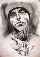Rick Genest - The Zombie Boy by PreciliaNHawa