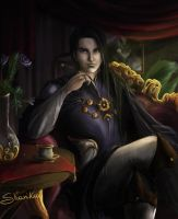 The Emperor of the Everlasting Night by ShariKia
