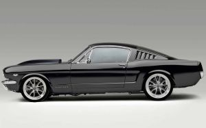 65 Black Mustang - Revise by lovelife81