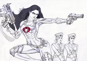 Baroness G.I.Joe by deemonHunter360