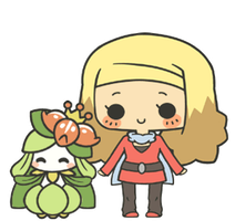 C: Alice and Lilligant by MinjiXMuu-chan