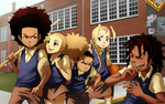 Boondocks: Group Commission by student-yuuto