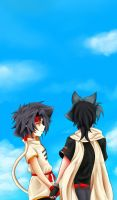 KaiRei: 01 - Holding hands by prongsie