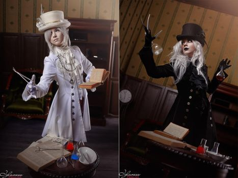 aristocrat style Dr Jekyll and Mr Hyde by cinq-pathetique