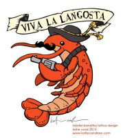 lobster banditos tattoo design by katiecandraw