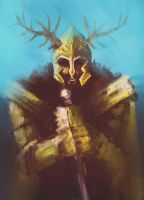 King Robert Baratheon by acazigot