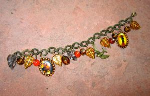 Autumn Charm Bracelet by Key-Kingdom