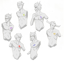Homestuck Statuettes - male by heavensong