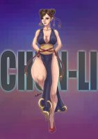Alternate Chun-Li by sarrus