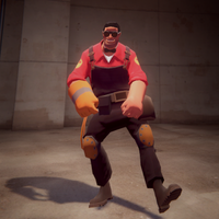 The New Texan Style (Team Fortress 2 engineer) by SdZLinko