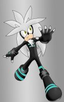 Sporting the Leather- Silver by silveramysaurus07